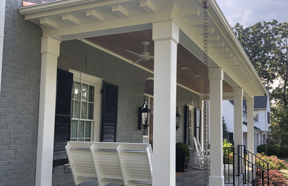 Porch addition builder
