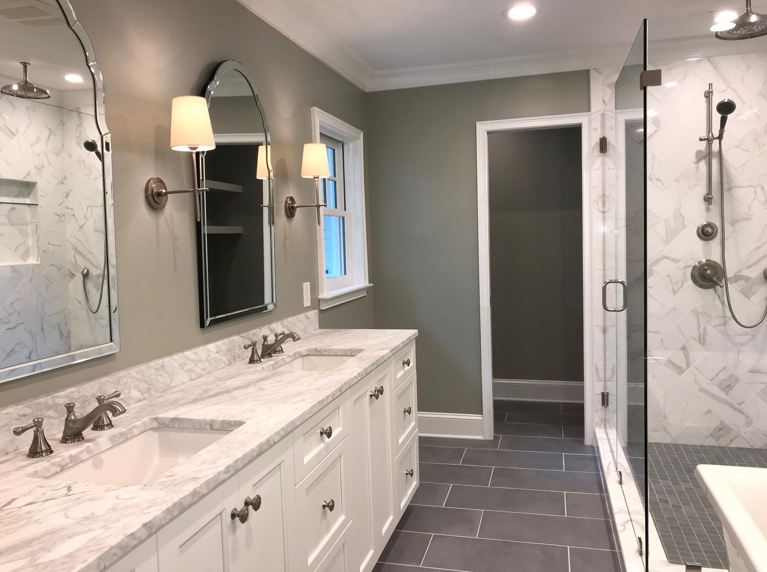 Custom bath design