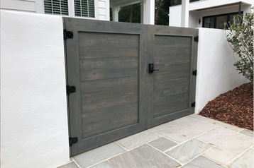 Custom woodworking custom gate builder