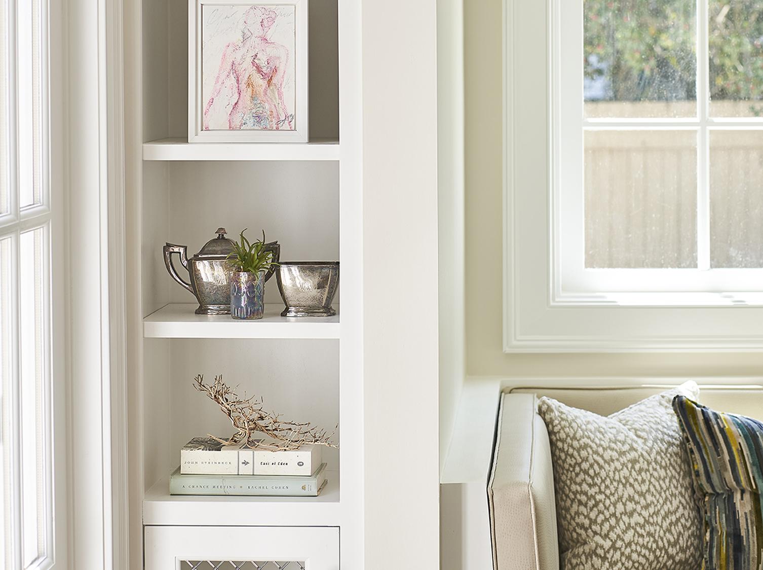 Custom Wood Working book shelves