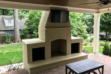 Outdoor living kitchen builder