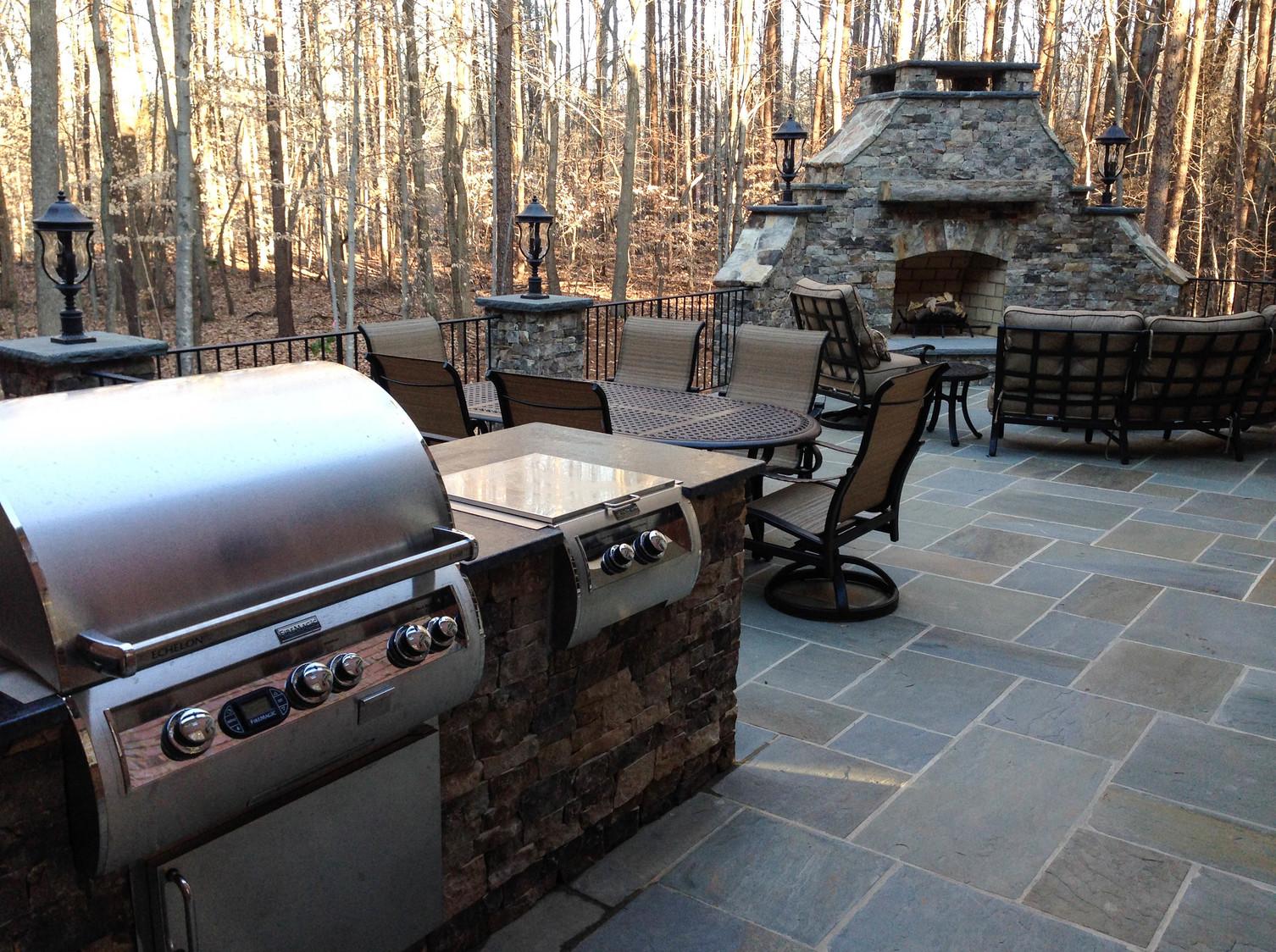 Outdoor Living outdoor kitchen remodel